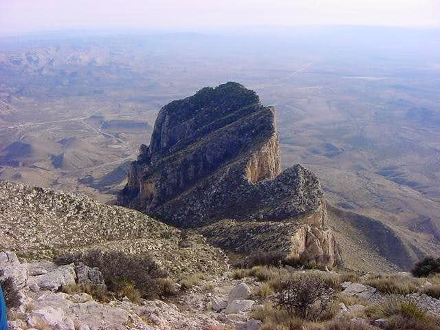 El Capitan from the summit of...