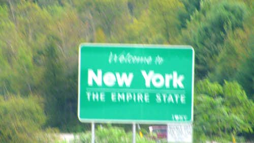 New York Welcome I-84 E
