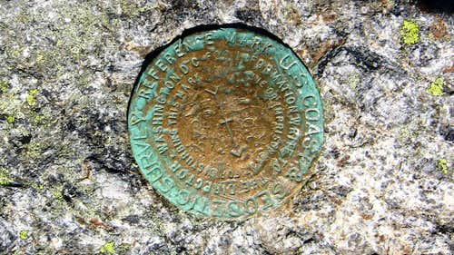 Mount Marcy USGS Marker