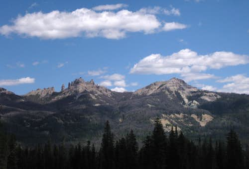 Southeastern Pinnacle Buttes