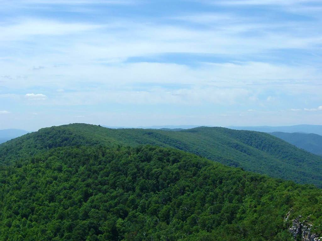 Great North Mountain Ridge