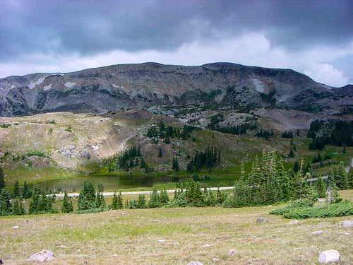 Medicine Bow Peak area from...