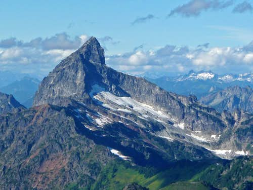 Sloan Peak\'s South Face