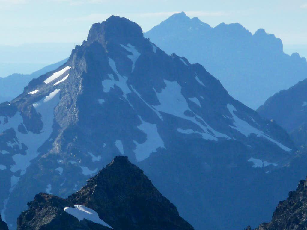 Del Campo Peak with Mount Pilchuck