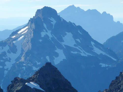 Del Campo Peak with Mount Pilchuck