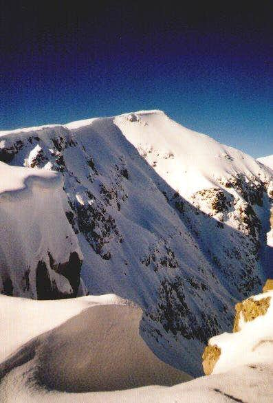 The summit of Stob Coire...