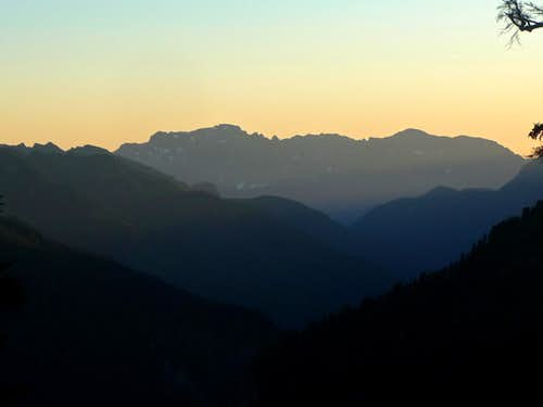 Sunset on Mount Index