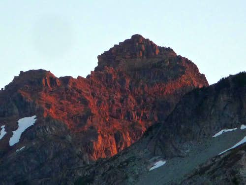 Sunrise on Kyes Peak