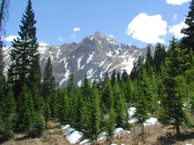 Mt Sneffels from the...