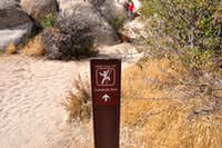 Access Trail to Gunsmoke