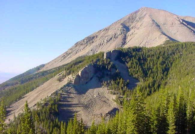 Southwest ridge of West...
