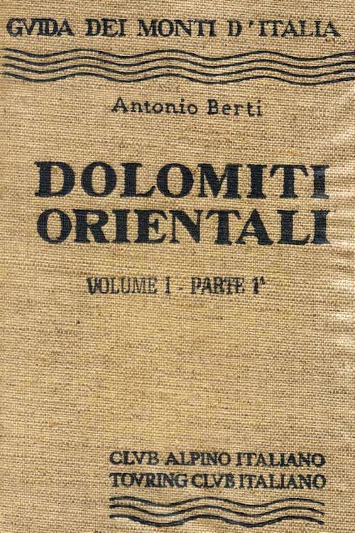 Dolomiti Orientali Guidebook