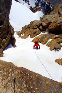 Couloir to Upper Face