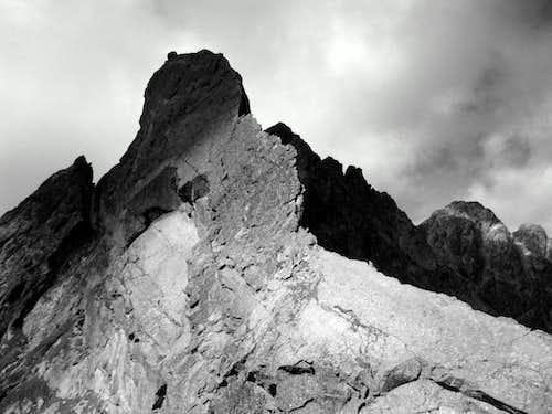 Żabi Koń and its East ridge