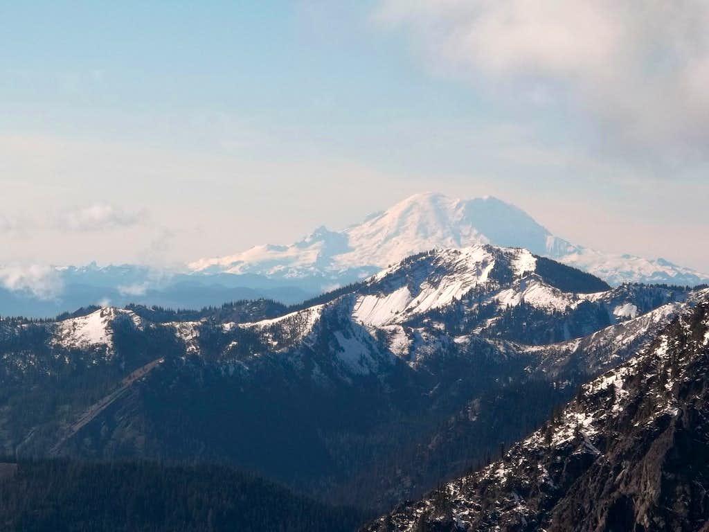 Rainier from Not Hinkhouse Peak