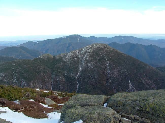 view from summit on October...