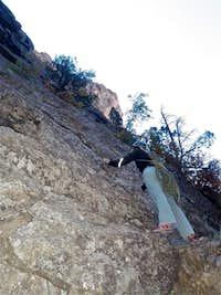 Liba Free climbing in keens