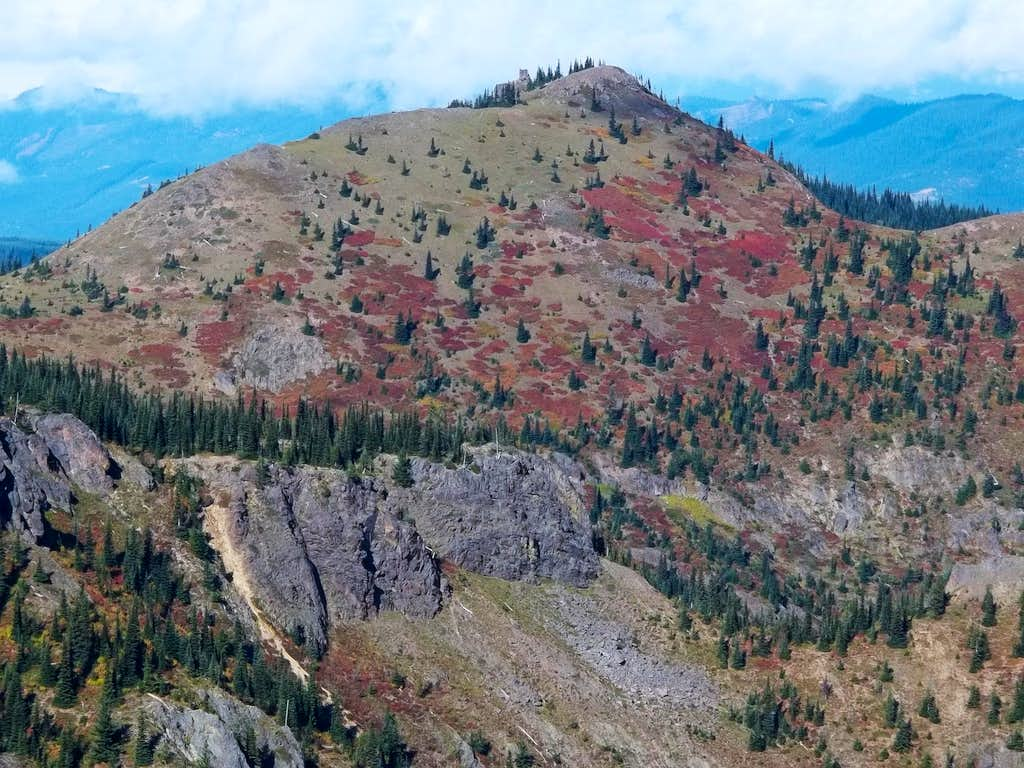 Noble Knob from Mutton Mountain