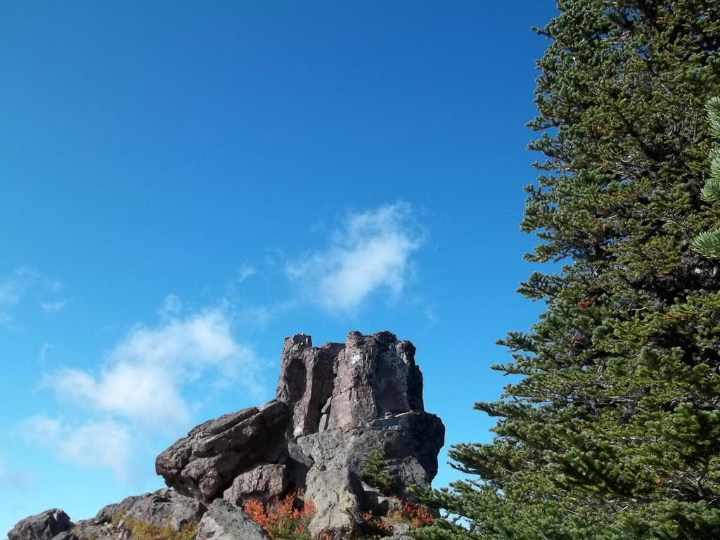 A nice northern rock near the summit