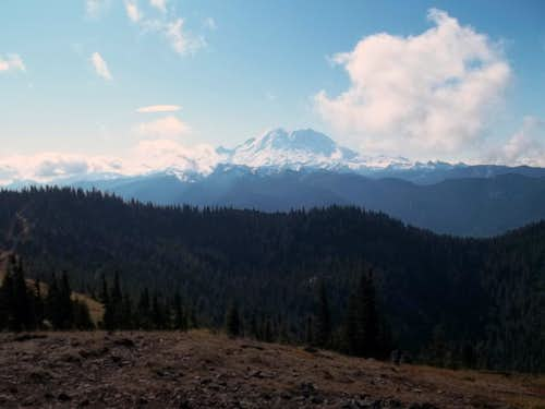 Rainier from Noble Knob