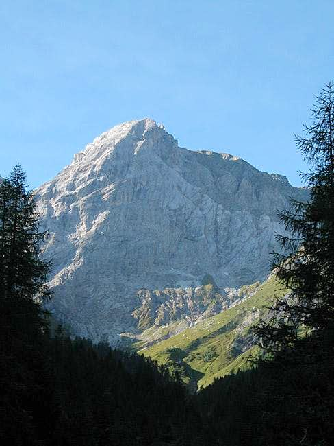 Kleine Kinigat seen from the...