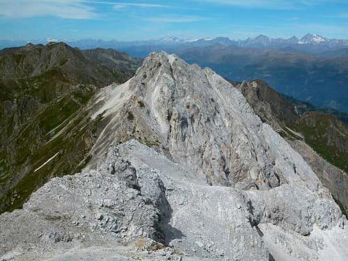 Kleine Kinigat as seen from...
