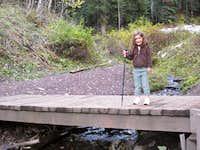 Aleah at the first Bridge