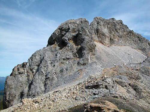Kleine Kinigat (2674m), seen...