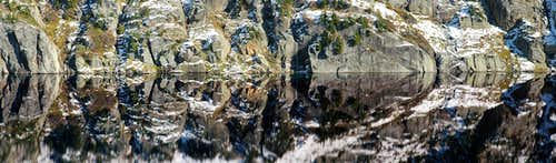 Kokanee Lake Reflection