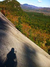 Fall climb, White-horse NH