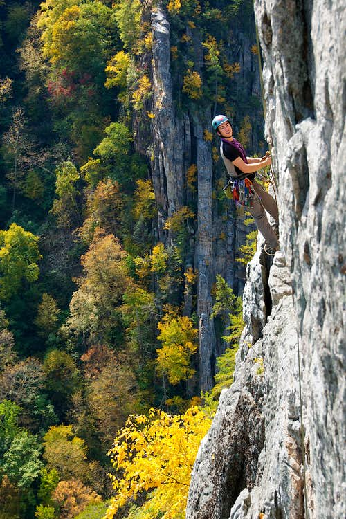 Seneca Rocks East Face
