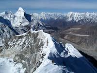 Imja Tse SW ridge