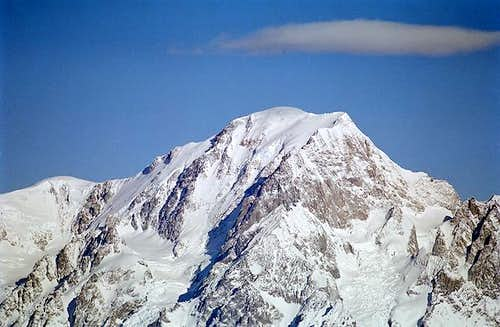 Mont Blanc seen from the...