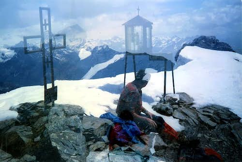 Mont Fallère <i>(3061m)</i> Spring Summits and Crosses 1987