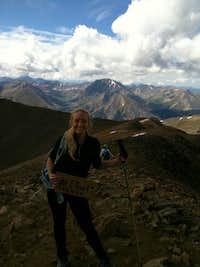 At the Top of Elbert