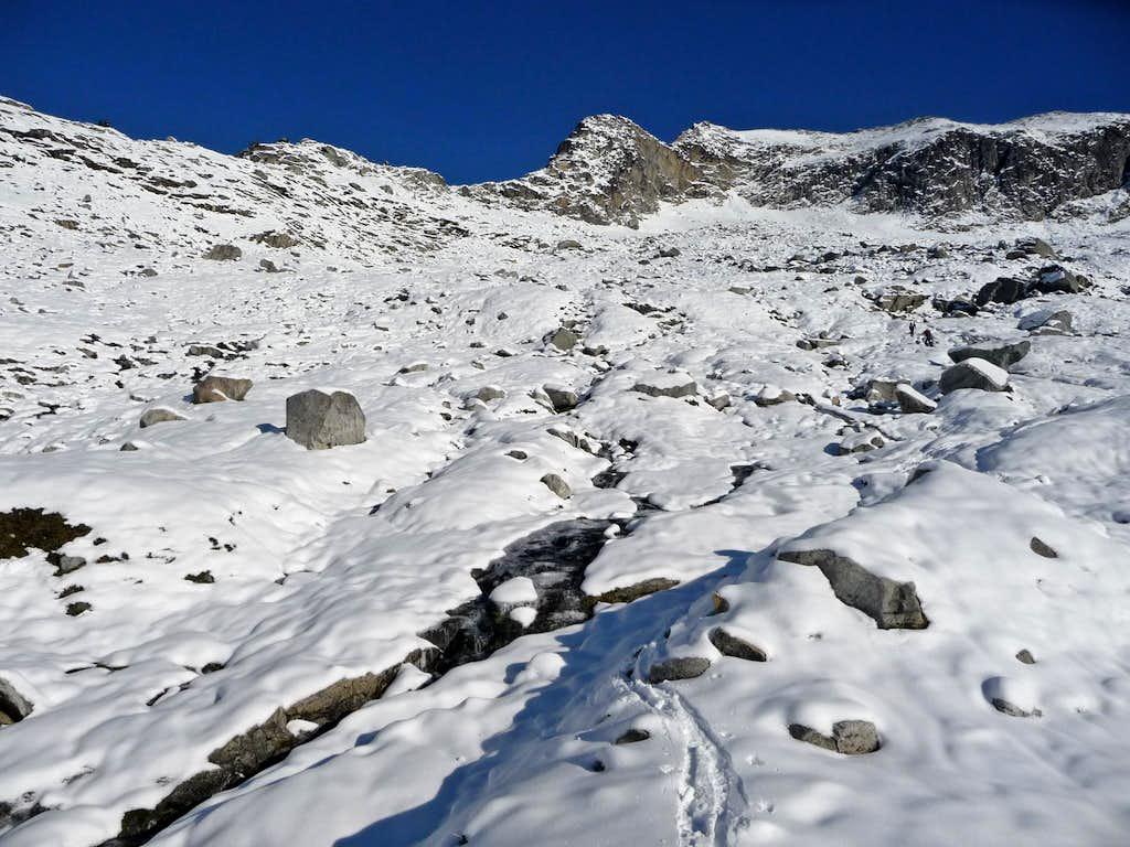 Roush Basin with Fresh Snow