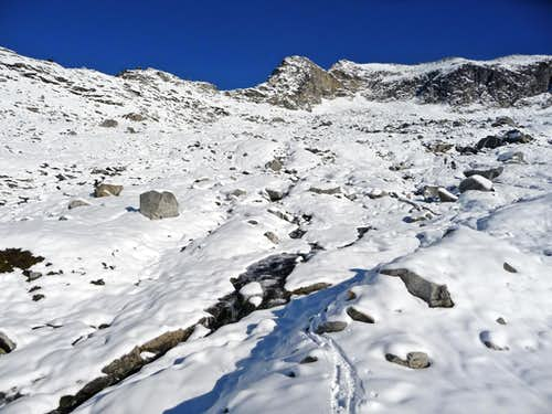 Roush Basin with Fresh Snow