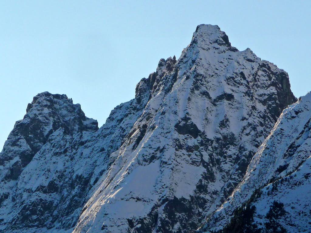 Cascade Peak from Eldorado