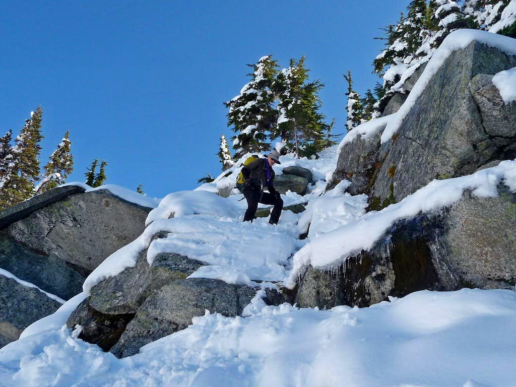 Ski Carefully Descending