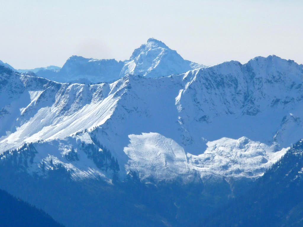 Looking towards Mount Pugh