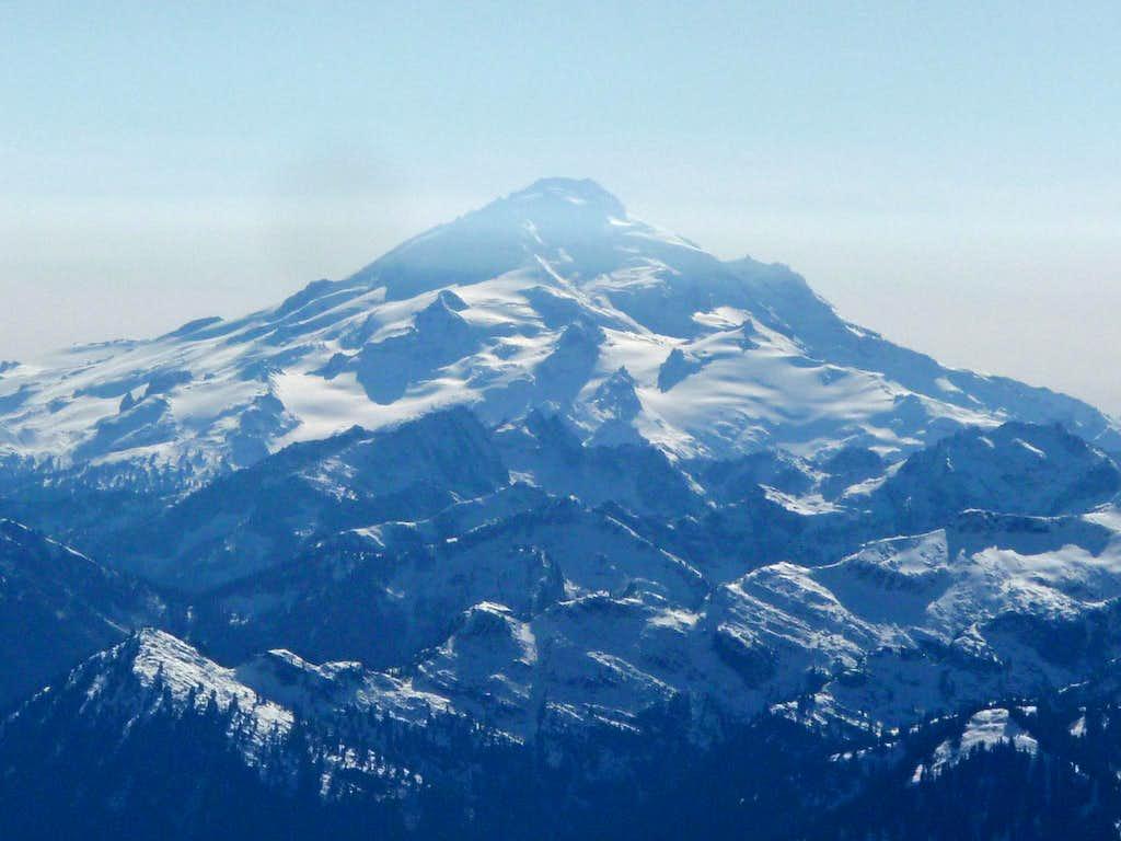 Blue Haze over Glacier Peak