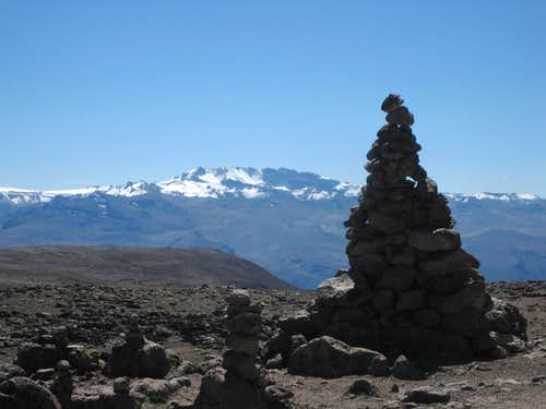 Nevado Mismi from the southeast