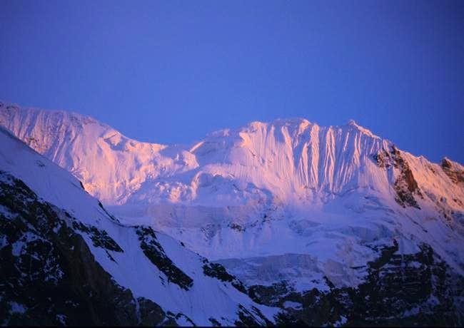 Inside the Gasherbrum glacier...