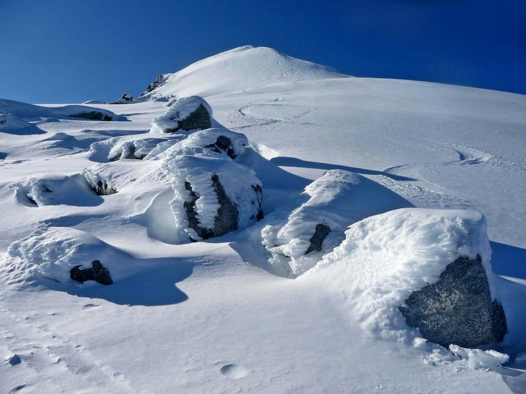 Wind Blown Rocks on the Ridge