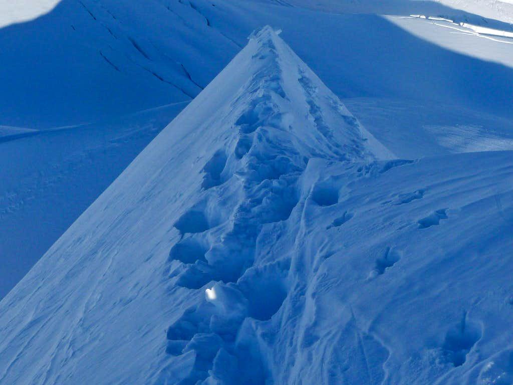 Looking Down the Knife Ridge