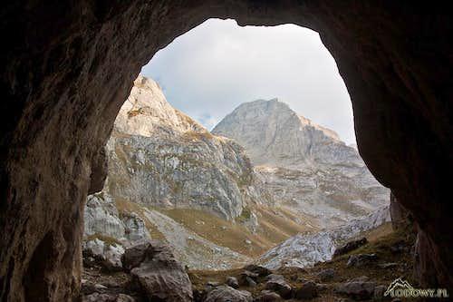 Zla Kolata from ice cave II