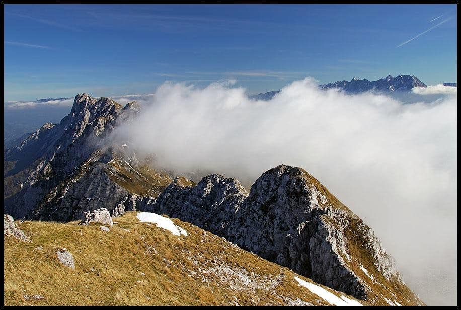 Kladivo summit view