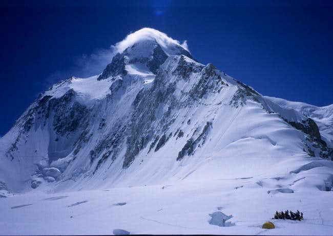 Gasherbrum 1 and 2 share a...