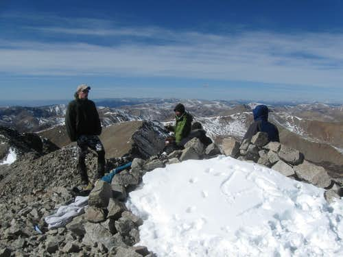 Tabeguache Peak summit