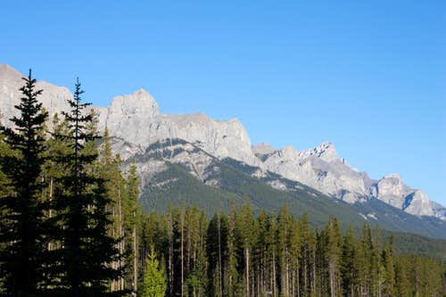 East Face of Mount Rundle